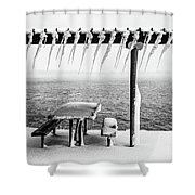 Frozen Picinic Shower Curtain