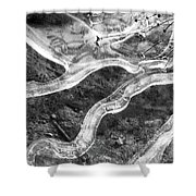 Frozen Puddle Two  Shower Curtain