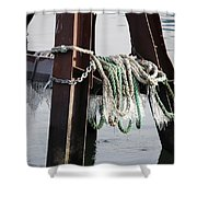 Frozen Ropes Shower Curtain