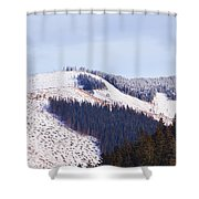 Frozen Valley 5 V2 Shower Curtain