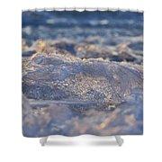 Frozen Wave Shower Curtain
