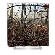 Frozen Web Shower Curtain
