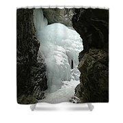 Frozen Zapata Falls Shower Curtain