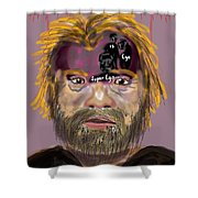Fruedian Voices Shower Curtain