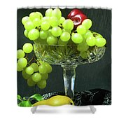 Fruit And Crystal. Shower Curtain