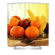 Fruit Arrangement Shower Curtain