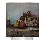 Fruit Basket - Lmj Shower Curtain