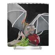 Fruit Bat Shower Curtain