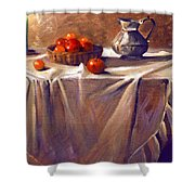 Fruit By Candle Light Shower Curtain