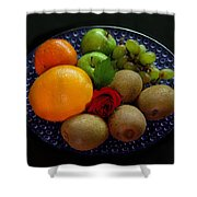 Fruit Dish Shower Curtain