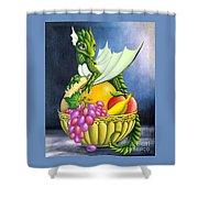 Fruit Dragon Shower Curtain