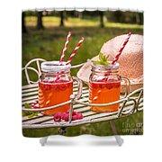 Fruit Drinks Shower Curtain