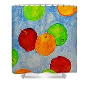Fruit Drops Shower Curtain