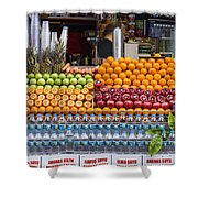 Fruit Just Stand Shower Curtain