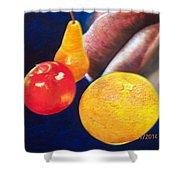 Fruit Lips Shower Curtain