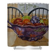 Fruit On The Table Shower Curtain