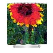 Fruit Salad Flower Shower Curtain