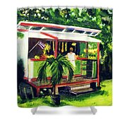Fruit Stand North Shore Oahu Hawaii #163 Shower Curtain