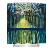 Fruit Trees #5 Shower Curtain