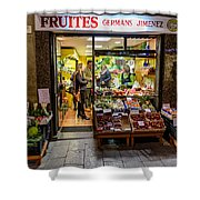 Fruites Shower Curtain