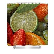 Fruitmix Shower Curtain