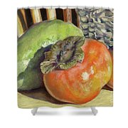 Fruits Of Autumn Shower Curtain
