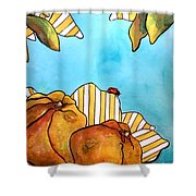 Fruits Of Passion Shower Curtain