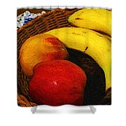 Frutta Rustica Shower Curtain