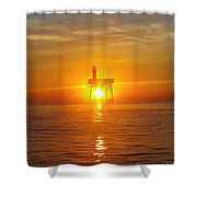 Frying Pan Tower Shower Curtain