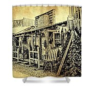 Ft. Apache General Store Shower Curtain