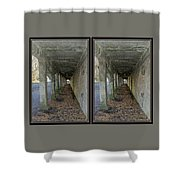 Ft. Howard Pk- Tunnel Effect - 3d Stereo X-view Shower Curtain