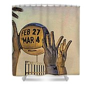 Ft Lauderdale Volleyball Time Shower Curtain