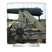 Ft Morgan Nc Cannon Shower Curtain