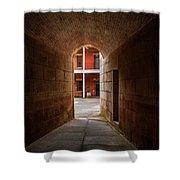Ft. Point Hallway Shower Curtain