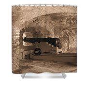 Ft Sumpter Defense Shower Curtain