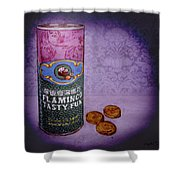 Ftf Can And Coins Shower Curtain