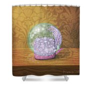 Ftf In A Bubble Shower Curtain