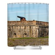 Ft. Pickens Gulf Islands National Seashore Shower Curtain