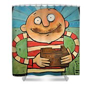 Fudge Shower Curtain
