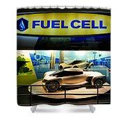 Fuel Cell Tech Shower Curtain
