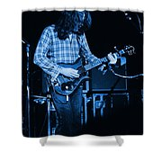 Fuel To The Blue Fire Shower Curtain