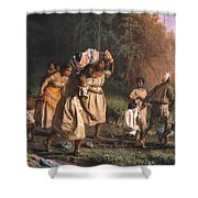 Fugitive Slaves, 1867 Shower Curtain by Granger