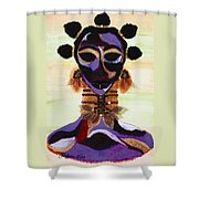 Fulani Shower Curtain