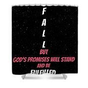 Fulfillment Shower Curtain