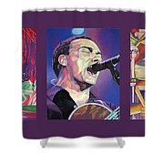 Dave Matthews Band -full Band Set Shower Curtain