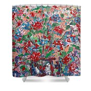 Full Bloom. Shower Curtain