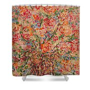 Full Bouquet. Shower Curtain
