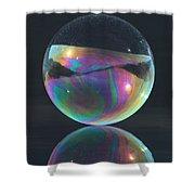 Full Bubble Shower Curtain