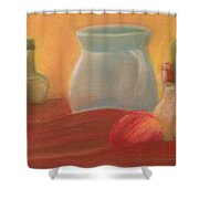 Full Color Still Life Shower Curtain
