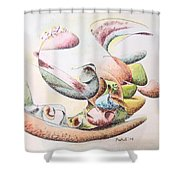 Full Force Shower Curtain